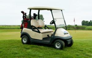Fiberglass golf cart repairs & repainting