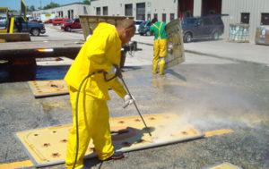 on-site fiberglass restoration and repair
