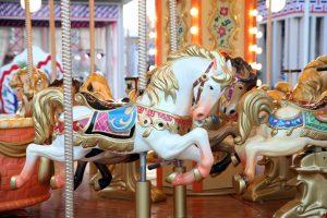 custom fiberglass repair carousels-theme parks